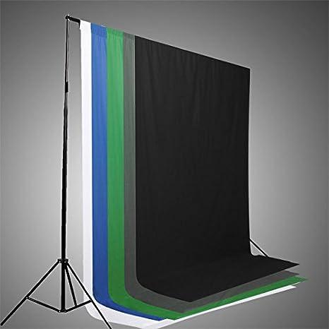 C & C Products 5 colores pantalla/Croma tela de fondo de ...