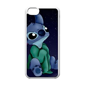 Lilo and Stitch 2 Stich Has a Glitch iPhone 5c Cell Phone Case White as a gift U0691002