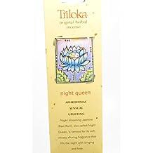 Triloka - Original Herbal Incense Night Queen - 10 Stick(s)