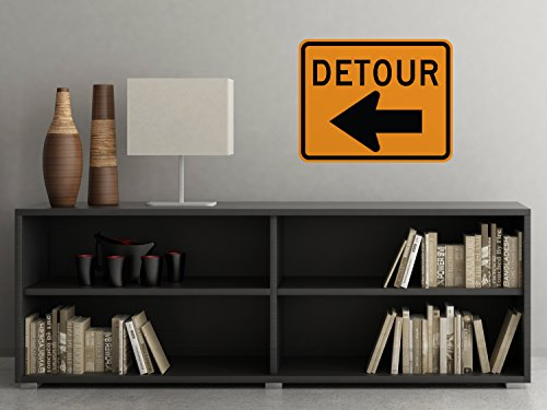 detour-sign-fabric-wall-decal-traffic-and-street-signs-large-3-sizes-available-non-toxic-reusable-re