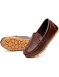 Casual Loafers Boys Girls Moccasin Slip on Slippers Boat-Dress Shoes/Sneaker/Flats