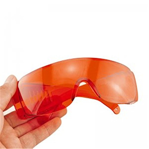 Dental Glasses Protection Red Goggle Glasses Lab Safety Dental Protective Eye Glasses for Curing Light Whitening