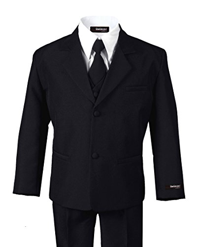 Formal Boy Black Suit From Baby to Teen (Medium (6-12 -