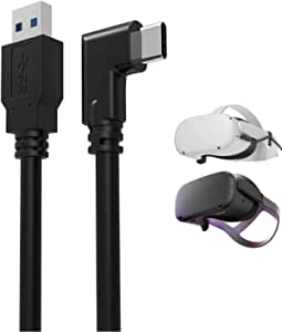 Oculus Quest Link Cable 5M (16 ft) USB to USB C Cable Oculus Quest 2 Link Cable 5Gbps High Speed Data Transfer & Charging, Compatible with Oculus Quest and Quest 2 VR headsets
