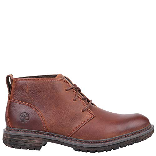 Timberland Men's Logan Bay Chukka Boot, Brown, 9.5 Medium US ()