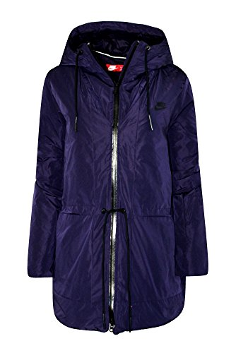 Top Nike Women's Insulated Down Hooded Parka Jacket Purple free shipping
