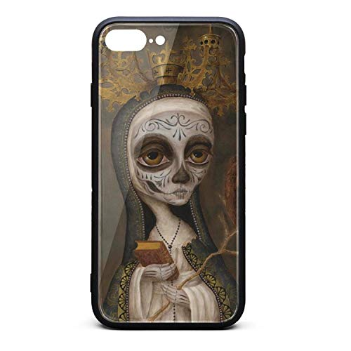 Case for Apple iPhone 7 Plus/8 Plus Band Art Poster Shock Absorption Bumper Cover TPU Soft Rubber Case with Hard PC Back Shell Thin