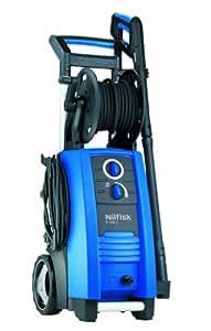 Nilfisk P 160.2-15 X-TRA - Limpiador de alta presión (Vertical, Eléctrico, Aluminio, Negro, Azul, 390 x 380 x 975 mm)