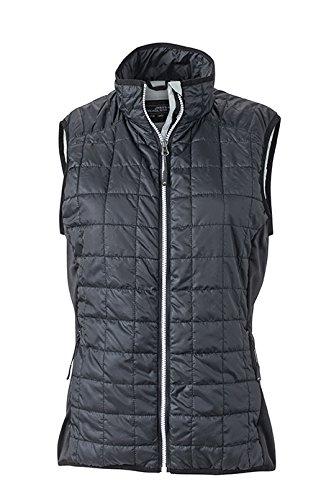 James & Nicholson Women's Hybrid Vest Gilet, Womens, Hybrid Vest Daiber