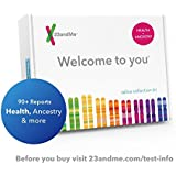 23andMe DNA Test - Health + Ancestry Personal Genetic Service - 90+ Online Reports - includes at-home saliva collection kit