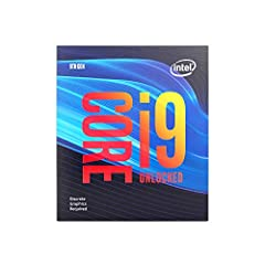 9th Gen Intel Core i9-9900kf desktop processor, unlocked, without processor graphics. Features Intel Turbo Boost Technology 2.0 and offers pro-level performance for gaming, creating, and overclocking. Discrete graphics required. Thermal solut...
