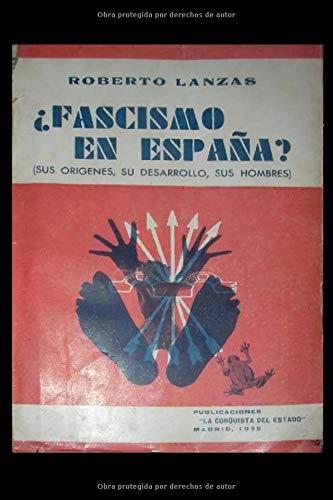 FASCISMO EN ESPAÑA?: Discurso a las juventudes de España: Amazon.es: Ledesma Ramos, Ramiro, Lanzas, Roberto: Libros
