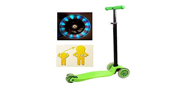 Amazon.com: DDIGEjin Kick Scooter para niños 3 ruedas ...