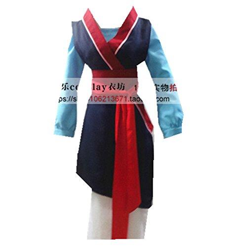 Hua Mulan Princess cosplay costume ()