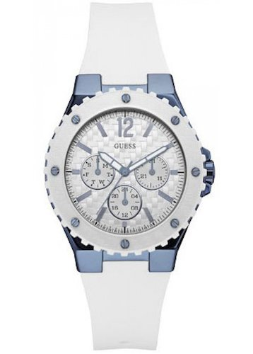 eac6f5c630ac3 Guess Womens Multi dial Quartz Watch with Silicone Strap W0149L6  Guess   Amazon.co.uk  Watches