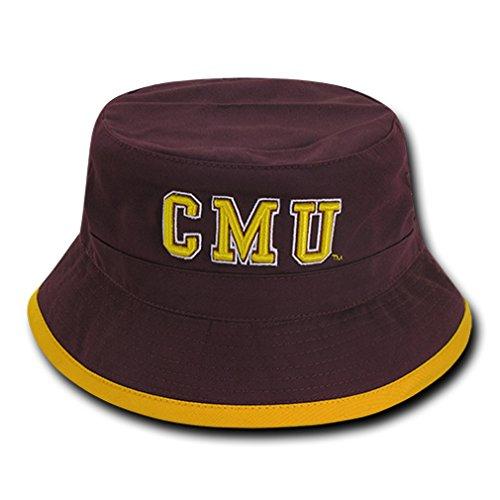 W Republic NCAA Central Michigan Chippewas Freshman Bucket, Large/X-Large, Maroon (Gear Central Michigan)
