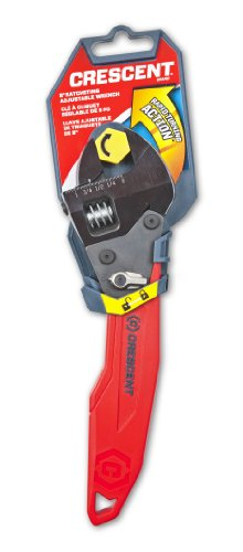 037103262684 - Crescent ATR28 8-Inch Ratcheting Adjustable Wrench, Red/Black carousel main 2