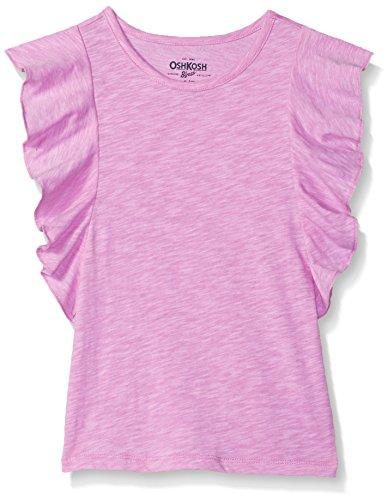Osh Kosh Girls' Toddler Fashion Tops, Lightly Lilac, (Lilac Fashion)