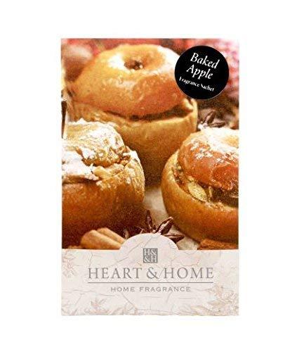 Heart & Home - Set de 2 Bolsas (Aroma de para ropero - Manzana al ...