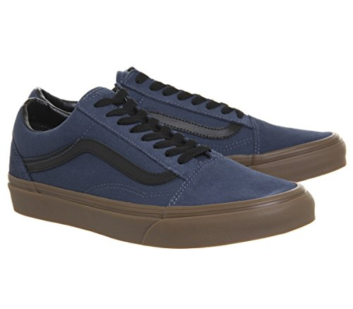 Adulto Old Vans Zapatillas Skool Azul Unisex U 5Oxw8qX