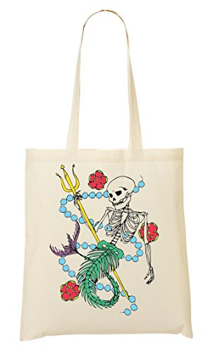 Mano La De Bolsa De Mermaid Colourful Skeleton Bolso Compra xwq41TFp