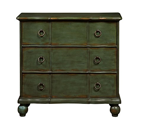 Pulaski-Classic-New-England-Distressed-Accent-Drawer-Chest-Green