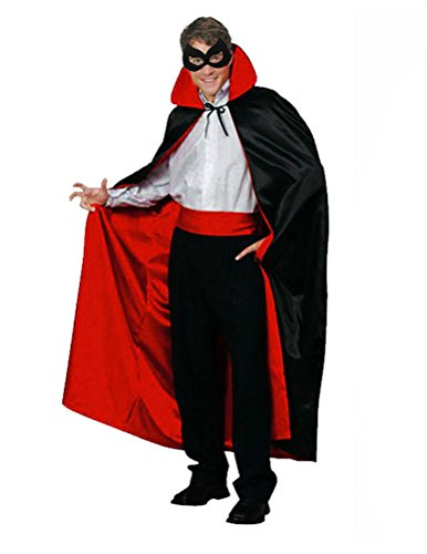 FeelMeStyle Double-sided Wearable Cloak for Halloween Cosplay Paty Cape Robe