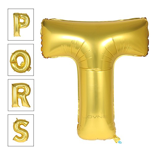 Lovne Alphabet Balloon Birthday Decorations product image