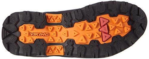 Viking Gaupe Gtx Unisex Adulto Scarpe Da Trekking E Da Trekking Nere (nero / Arancione 231)