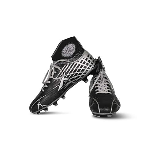 Vector X Stealth Synthetic Football Shoes (Black-Grey) Price & Reviews
