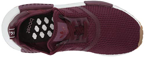 adidas Originals Men's NMD_r1 Shoe, Maroon/Collegiate Burgundy, 13.5 M US