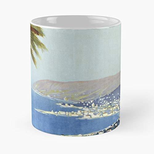 Remo Coffee - Vintage San Remo Italy Travel - Morning Coffee Mug Ceramic Novelty Holiday 11 Oz