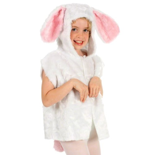 Rabbit Costume for kids. One Size 3-9 Years. (Kids Rabbit Costume)
