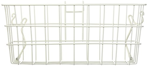 Walker Medline Basket - PCP Wire Basket for Dual Release Walker, White