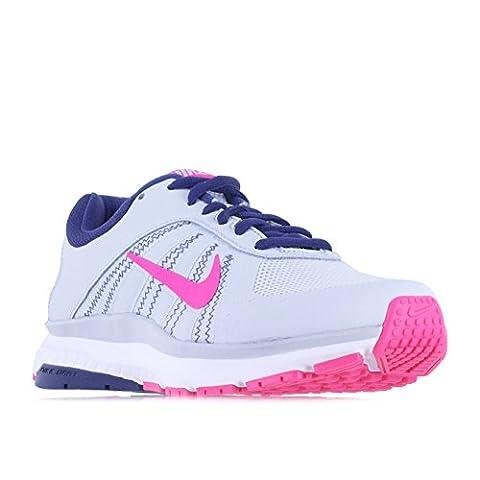 Nike Women's Dart 12 Pr Pltnm/Pnk Blst Dk Prpl Dst Running Shoe 8 Women US
