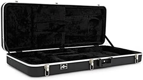 Estuche de ABS Rectangular para Bajo Electrico de Gear4music: Amazon.es: Instrumentos musicales