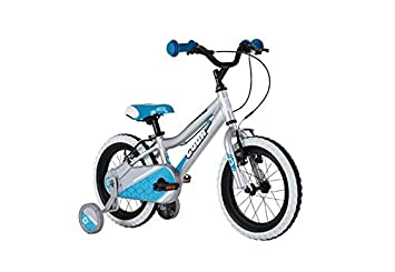 Cuda Blox 14 Boys Bicycle 4 6 Yrs Aluminium Silver Blue Amazon