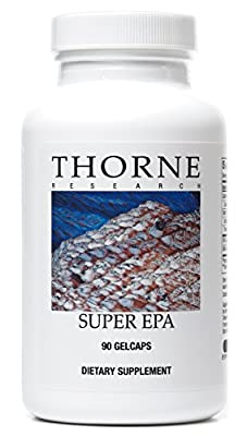 Thorne Research - Super EPA - Concentrated Omega-3 Fatty Acid Supplement - 90 Gelcaps