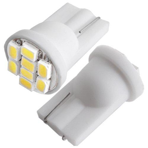 8 opinioni per CARCHET® 2pz AUTO LAMPADE LUCI T10 BIANCO 8 LED 3020 SMD CHIPS