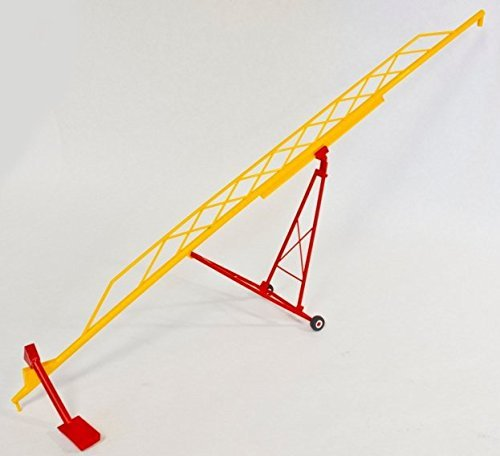 (Midwest Farm Models 1/64th Scale 115' Grain Auger MW1001 RED/Yellow)