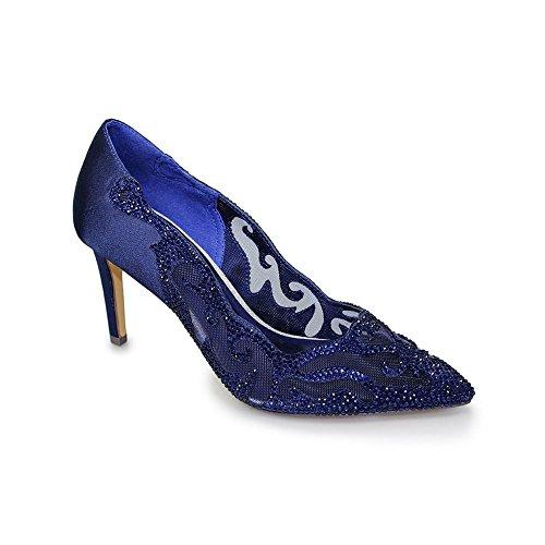 Lunar Arkle Evening Court Shoe Navy RiKnlFs1s