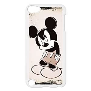 iPod Touch 5 Case White Disney Mickey Mouse Minnie Mouse as a gift A5855915