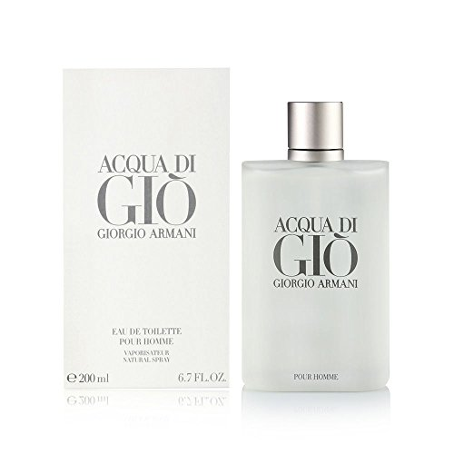 Acqua Di Gio Pour Homme By Giorgio Armani Eau-de-toilette Spray, 6.7 Fl Oz (Top 10 Mens Cologne In The World)