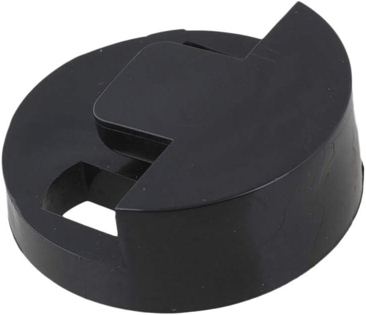 Light-weight Round Style Rubber Mute Silencer Dampener for Bass Guitar