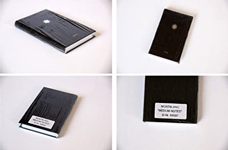 Mont Blanc 9597- Masterpiece Cuaderno pequeño - 9,2 x 14,2 ...