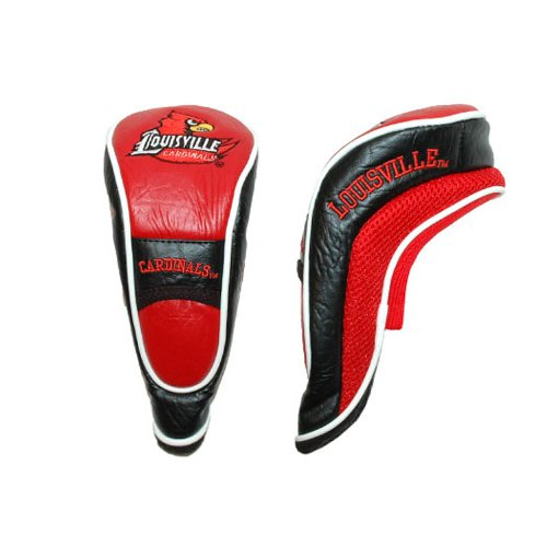 Team Golf NCAA Louisville Cardinals Hybrid Golf Club Headcover, Hook-and-Loop Closure, Velour lined for Extra Club Protection