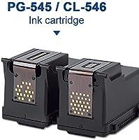 SMARTOMI - 2 Cartuchos de Tinta PG-545 Negro y CL-546 XL Tricolor ...