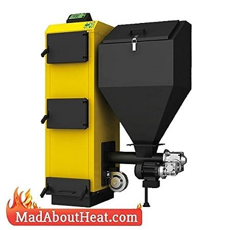 Wood Pellet Boiler >> Pbi 27kw Pereko Wood Pellet Boiler Log Burner Peat Coal