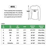TERODACO Boys'Long Sleeve Athletic T-Shirt