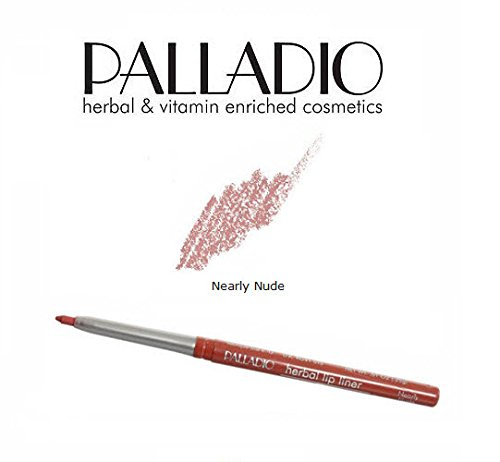 3 Pack Palladio Beauty Retractable Lip Liner 12 Nearly Nude